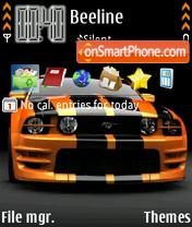 Скриншот темы Ford Mustang 74