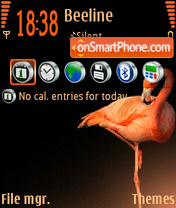 Flamingo 01 theme screenshot