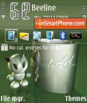 Deviant theme screenshot