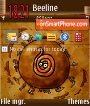 Cartoon 04 theme screenshot