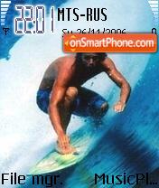Super Surf theme screenshot