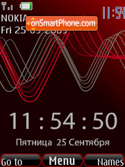 SWF time and date tema screenshot