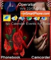 Love Hearts theme screenshot