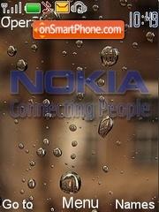 Скриншот темы Nokia Waterdrops