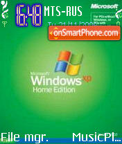 Windows Xp Old Edition theme screenshot