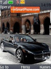 Maserati Granturismo theme screenshot