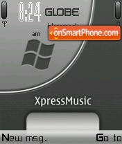 Windows Xpress Music theme screenshot