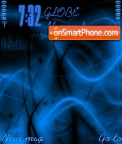 Nokia Abstract V1 theme screenshot