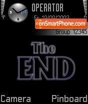 The End 02 theme screenshot