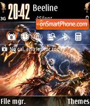 God of War V1 theme screenshot
