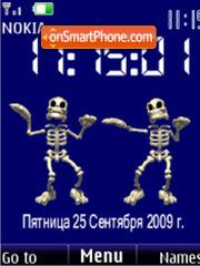 Skeleton Dance anim theme screenshot
