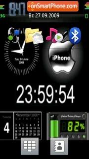 Animated N97 theme screenshot