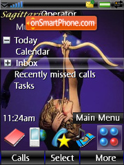 Horoscope tema screenshot