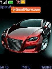 Red Audi theme screenshot