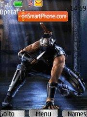 Ninja Gaiden theme screenshot
