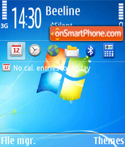 Windows 7 11 theme screenshot