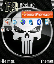 Punisher 04 theme screenshot