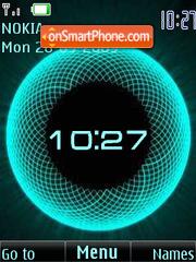 Animated clock Theme-Screenshot