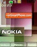 Nokia Xpress Music 07 es el tema de pantalla
