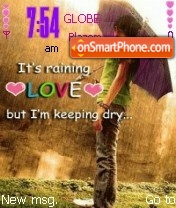 Im Keeping Dry theme screenshot