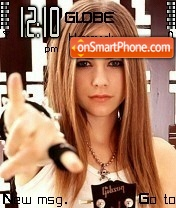 Avril Lavigne 26 theme screenshot