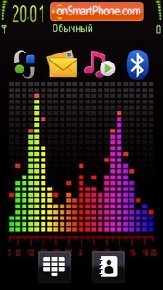 Colour Of Music 5th DI theme screenshot