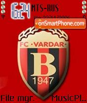 Скриншот темы FC Vardar