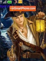 Capture d'écran Pirates thème