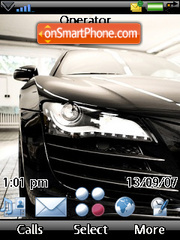 Audi R8 and more tema screenshot