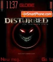 Disturbed 01 tema screenshot
