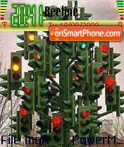 Traffic Signal es el tema de pantalla