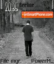 Walking Alone es el tema de pantalla