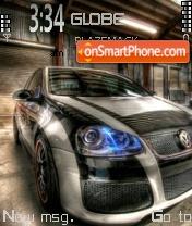 Vw Golf Gti 02 theme screenshot