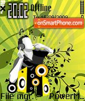 Music Is Life 02 es el tema de pantalla