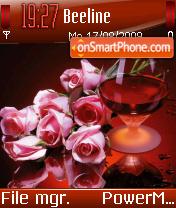 Roses In Red es el tema de pantalla