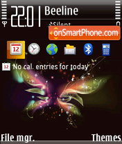 Black color fp1 tema screenshot