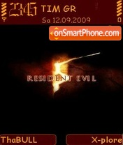 Resident evil 5 01 theme screenshot