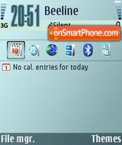 Nuance theme screenshot