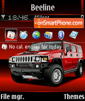 Hummer h2 05 theme screenshot