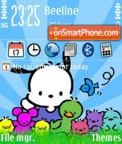 Capture d'écran Little friends thème