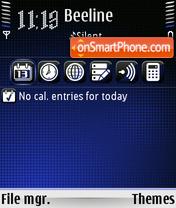 Comet 01 theme screenshot