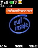 Evil Inside tema screenshot