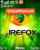 Firefox Matrix theme screenshot