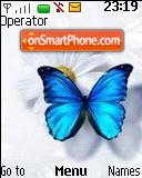 Flower & Butterfly es el tema de pantalla