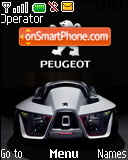 Peugeot Flux Concept theme screenshot