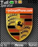 Porsche Logo theme screenshot