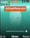 Security Clearance theme screenshot