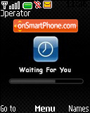 Waiting for You es el tema de pantalla