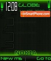 Neon Nokia 01 theme screenshot