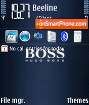 Скриншот темы Boss 01